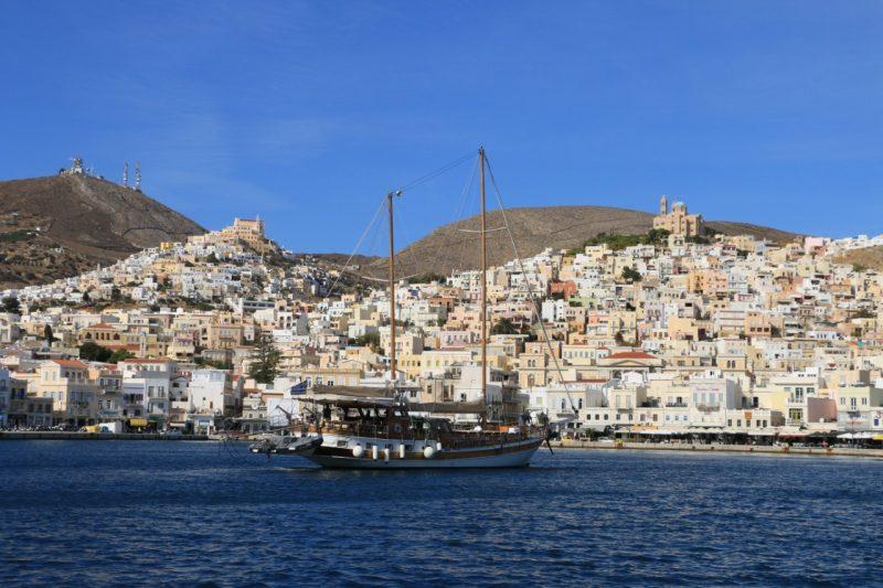 JOUR 5 : DEPART POUR SYROS